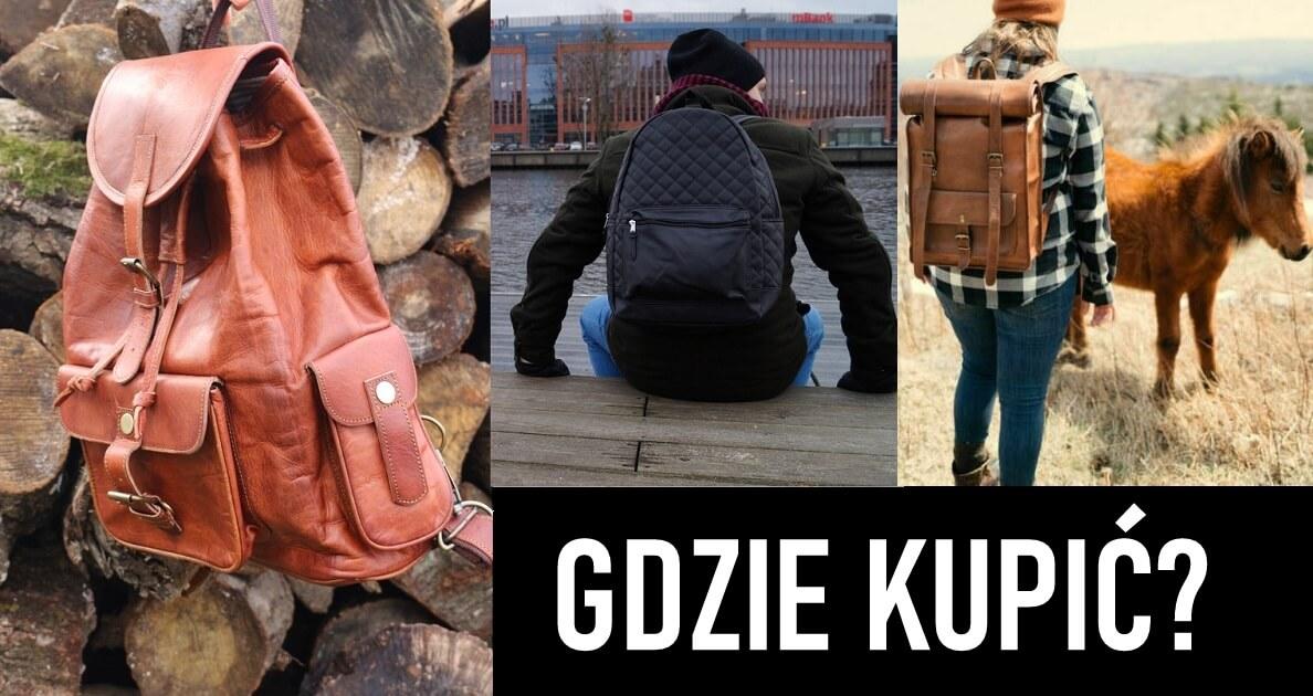 plecak skórzany vintage Bydgoszcz